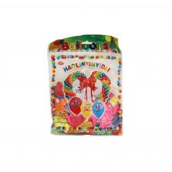 كيس بالون 100 بالون بالوان متعددة
