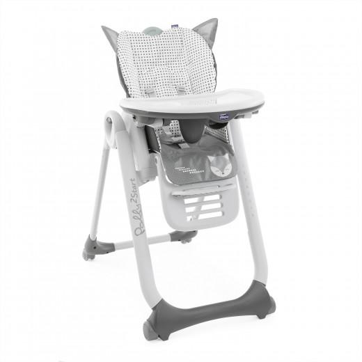 كرسي أطفال بولي 2 ستارت ثعلب - 4 واط من شيكو