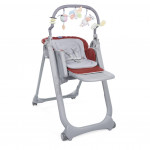 كرسي أطفال بولي ماجيك ريلاكس العاطفة الحمراء من شيكو