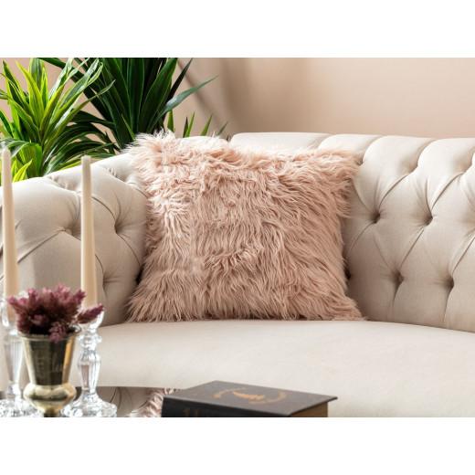 غطاء وسادة مدام كوكو بوست (45 × 45 سم) - وردي