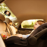 مرآة سيارة مزدوجة الرؤية للأطفال من منشكن