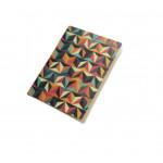 دفتر ملاحظات بتصميم زخرفة شرقي مثلثات, تصميم ملون
