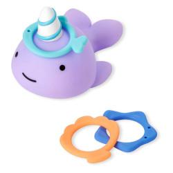 حلقة اللعب للاطفال اثناء الاستحمام من سكيب هوب