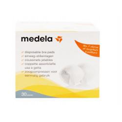وسادات صدرية للاستعمال مرة واحدة  30 قطعة من ميديلا