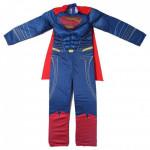 Superhero Kids Muscle Super Man Costume Size Large