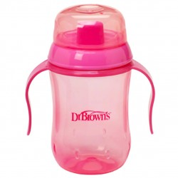 Dr. Brown's Hard Spout Cup 270 ML Pink +9M